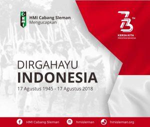 DIRGAHAYU REPUBLIK INDONESIA 73