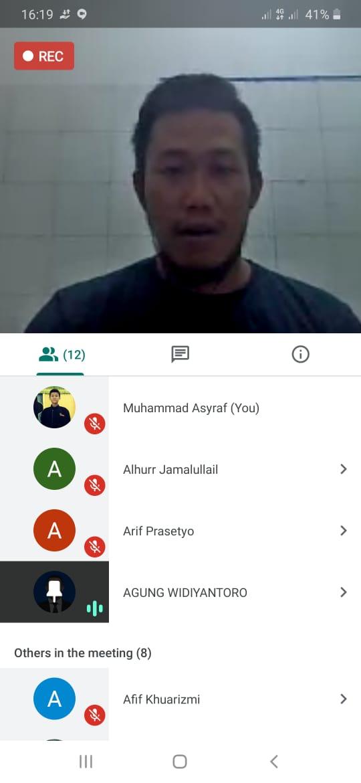 """""""Paradigma Islam"""" Kuntowijoyo dalam Bedah Buku HMI Komisariat UPNVY"""